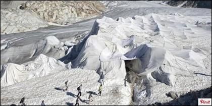 Los alpes franceses, en una foto de archivo.