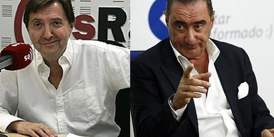 Federico Jiménez Losantos y Carlos Herrera.