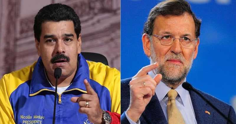 Maduro y Rajoy