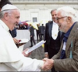 Harvey Cox, con el Papa Francisco