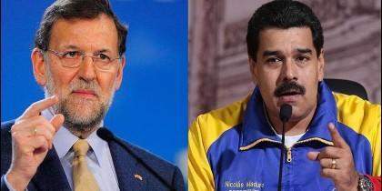 Mariano Rajoy (ESPAÑA) y Nicolás Maduro (VENEZUELA).