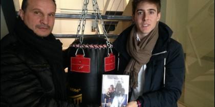 Javier Castillejo y Jorge Sanz Casillas en la redacción de PD.