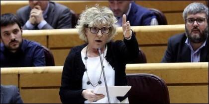 La senadora de Esquerra, Mirella Cortés (ERC).