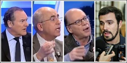 Jiménez, Rosell, González y Garzón.