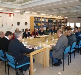 Reunión de los Agustinos en el Colegio Mayor San Agustín de Madrid