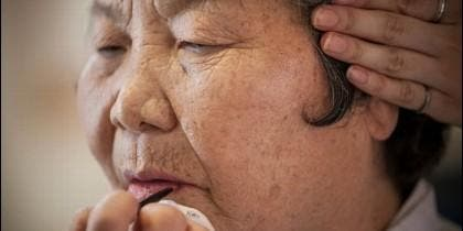 Mujer surcoreana