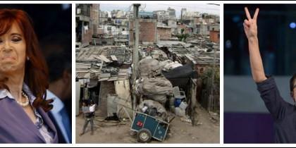 Cristina Kirchner, villas miserias en Argentina e Íñigo Errejón.