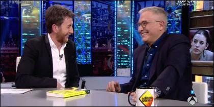 Pablo Motos y Javier Sardá.