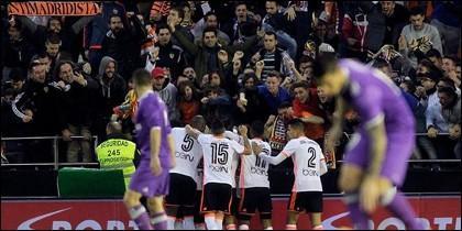 Valencia-Real Madrid.