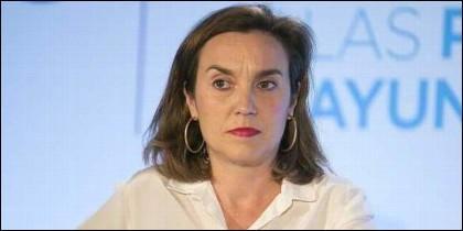 La alcaldesa de Logroño, Cuca Gamarra (PP).