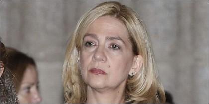 Cristina de Borbón, Infanta de España.