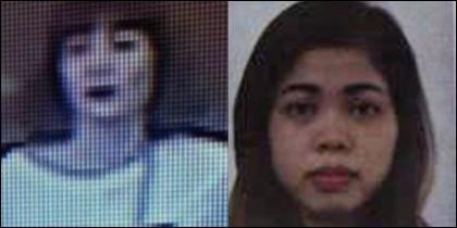 Doan Thi Huong y Siti Aisyah, las dos mujeres en arrestadas por el asesinato del norcoreano Kim Jong-nam.