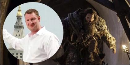 Neil Fingleton, el gigante de Juego de Tronos.