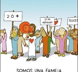 La familia de los 'mindundis'
