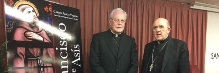 Amigo y Osoro, en la presentación del libro de San Pablo