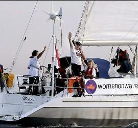 El 'barco abortista' de Guatemala