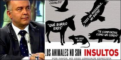 Gonzalo Boye y la campaña 'Ser Vegan es Fácil'.