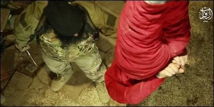 Ejecución del ISIS en Al Raqa