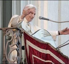 La despedida de Benedicto XVI