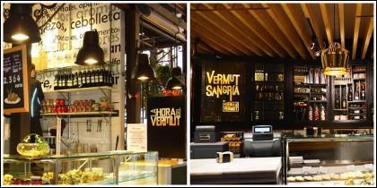 'La Hora del Vermut' en Mercado de San Miguel y Platea, de Madrid.