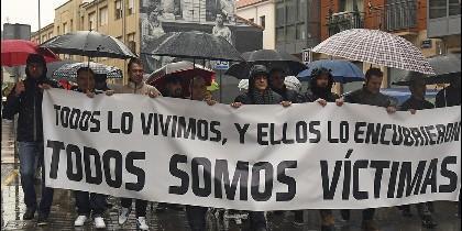 Manifestación contra la pederastia en Astorga