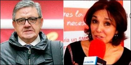 Carlos García Revenga e Isabel Gemio.