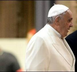 El cardenal Pietro Parolin, con el Papa Francisco