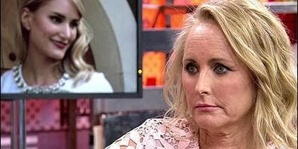 Lucía Pariente, la madre de Alba Carrillo en 'Sálvame Deluxe'.