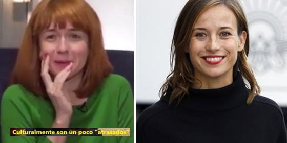 Miren Gaztañaga en la ETB; y Marta Etura.