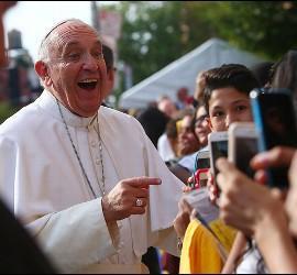 La popularidad del Papa Francisco