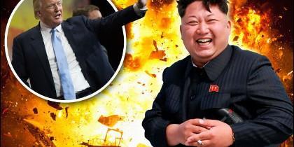 Trump y Kim Jong-un