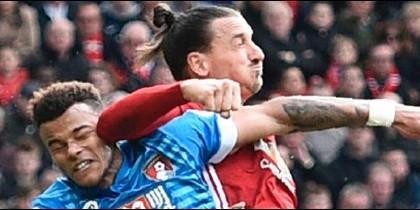 El primer lío de Zlatan en Inglaterra: Acusado de conducta violenta