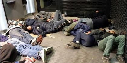 Menores migrantes en Melilla