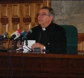 El nuevo obispo de Plasencia, José Luis Retana Gozalo