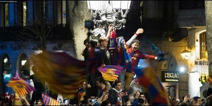 La celebración más loca de un ex barcelonista tras la remontada ante el PSG