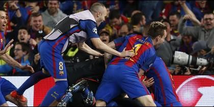 Remuntada histórica en el Camp Nou