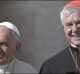 El Papa Francisco y el cardenal Müller