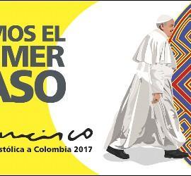 'Demos el primer paso'. El Papa, a Colombia