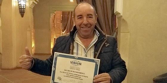 Turismo de marruecos galardonado por la asociaci n de for Oficina de turismo de marruecos