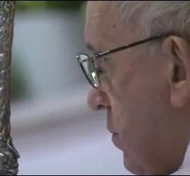 Misa del Papa en Santa Maddalena di Canossa