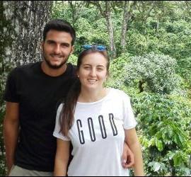 Los dos jóvenes asesinados en Guatemala