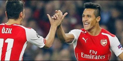 Alexis y Özil 'se rebelan': las cifras del adiós del chileno y el alemán al Arsenal