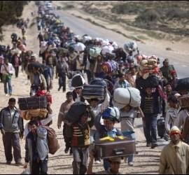 La Iglesia, con los refugiados
