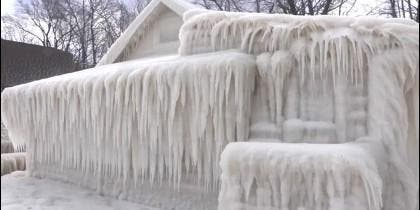 Casa congelada