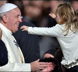 Ternura del Papa Francisco