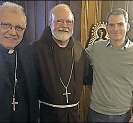 Baltazar Porras con otros participantes del I Encuentro iberoamericano de Teología