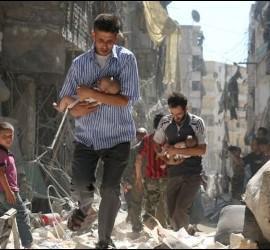El drama de la guerra en Siria
