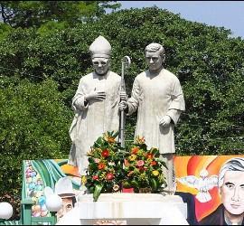 La Iglesia salvadoreña honra la memoria de Óscar Romero y Rutilio Grande