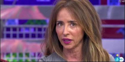 María Patiño en 'Sálvame Deluxe'.