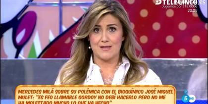 Carlota Corredera en Telecinco.